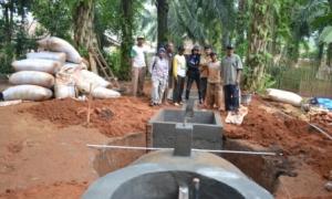 Pelatihan Membuat Biogas Bagi Kelompok Konservasi