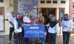 YKWS, AQUA Danone Galangkan Pencegahan Penularan Covid-19 Lewat Donasi