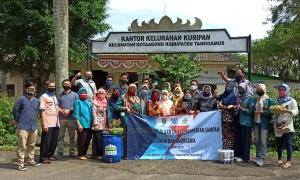 YKWS Bersama Mahasiswa PKL Gelar Pelatihan Pengelolaan Sampah